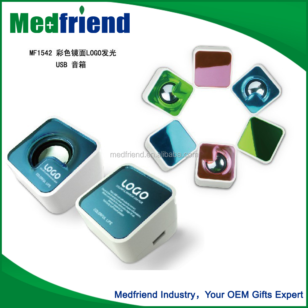 MF1542B Wholesale China Trade Usb Mini Speaker Music Box With Customized Logo