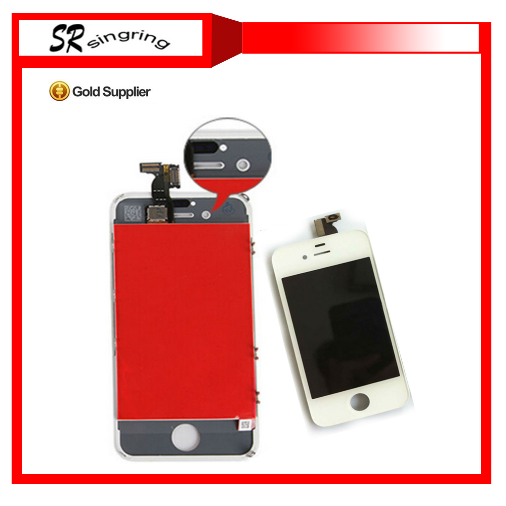Factory price for iphone 4s lcd touch screen with digitizer assembly,White/black color for iphone 4s lcd,original for iphone 4s