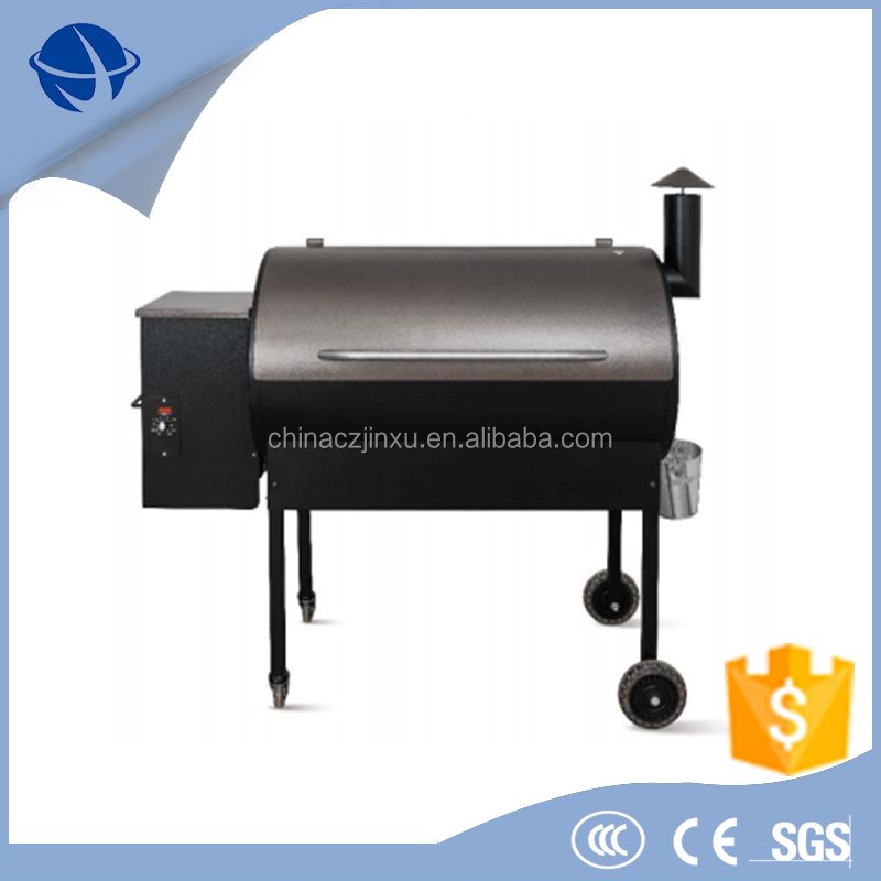 Charcoal Smoker Barbecue Grills with Trolley