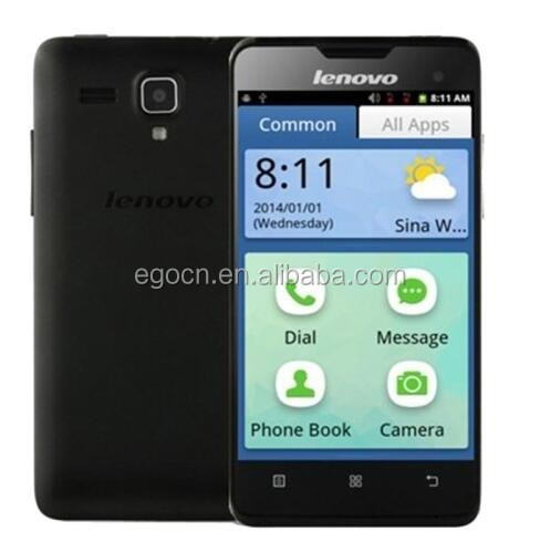 "cheap cellphone Original Cheap lenovo A3 old people mobile phones 4.0"" Android 2.3 OS Quad core WIFI GPS Dual Sim"