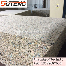 Environmentally PU foam block rebond foam for mattress