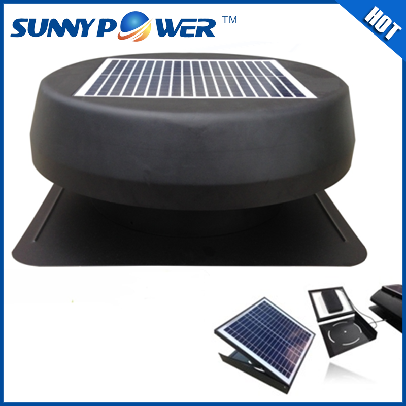 Sunny Power 15 watt 14 inch solar fan and solar fan for home use