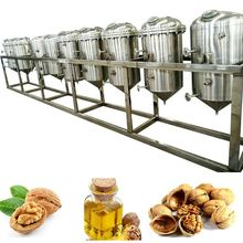 Camelina seeds oil expeller High-quality hydraulic olive oil press Corn oil processing line