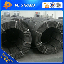 To construction companies 12.7mm pc steel strand applied in bridge construction