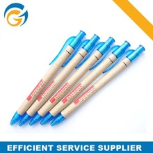 Customized Paper Eco Pen Pet Recycle Pen with Logo