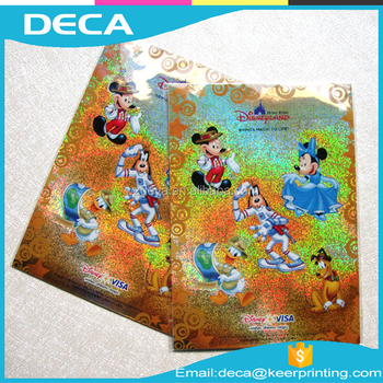 Cheap Custom Hologram sticker Personalized waterproof sticker printing for your sticker label