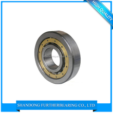 Super precision angular contact Chrome Steel, Carbon Steel NJ202 high quality roller bearing