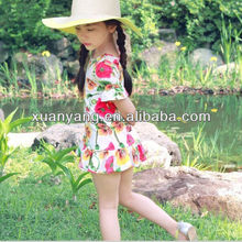 New Arrival White Princess casual flower Cinderella Dresses For Girls