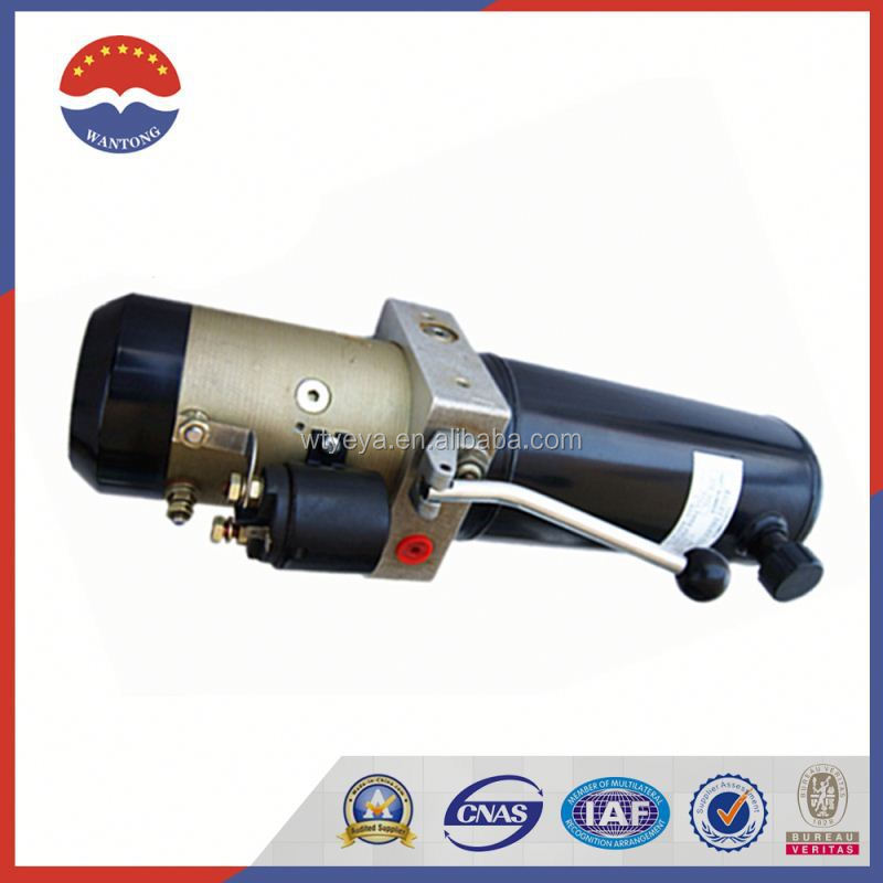 12v 24v Dc Hydraulic Power Pack/Hydraulic Power Unit