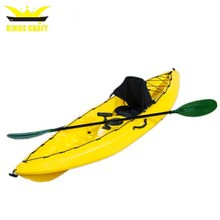 sing sit top plastic fishing kayak boat for fun