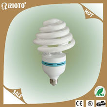 E27 Daylight T4Tri Color Powder 28W Umbrella Shape Energy Saving Lamp Light Bulb