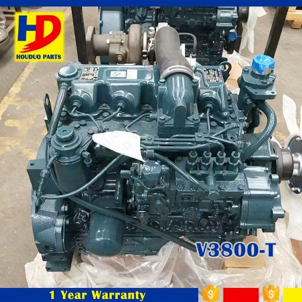 Engine For Kubota V3800-T Diesel Engine Serial No. 9L0630