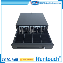 Runtouch RT-C410 New 5 Bills 8 Coins Durable RJ11 Cash Drawer for Touch POS Systems