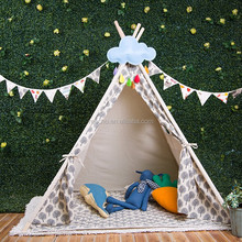 Easy Fold Children Play Tent Outdoor Fabric For Kids Teepees