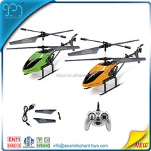 2.4GHZ 3 Channel 4-Axis Gyro Mini RC Helicopter With Long Battery Life 4-Blades Helicopter For Kids RC Helicopter China With Box