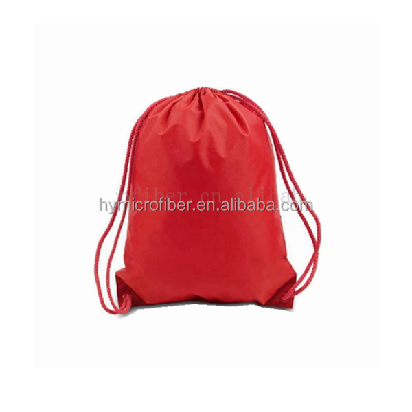cheapest wholesale drawstring backpack bag with pocket