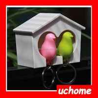 UCHOME Fashion Birds Love Nest Shape Key chain