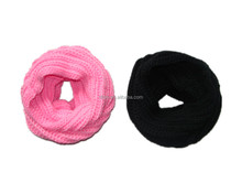 Modern New Design High Quality multicolored knitting scarf