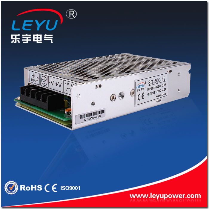 High performance China golden supplier 50W 5V Single Output DC-DC Converter/50w 5V switching power supply