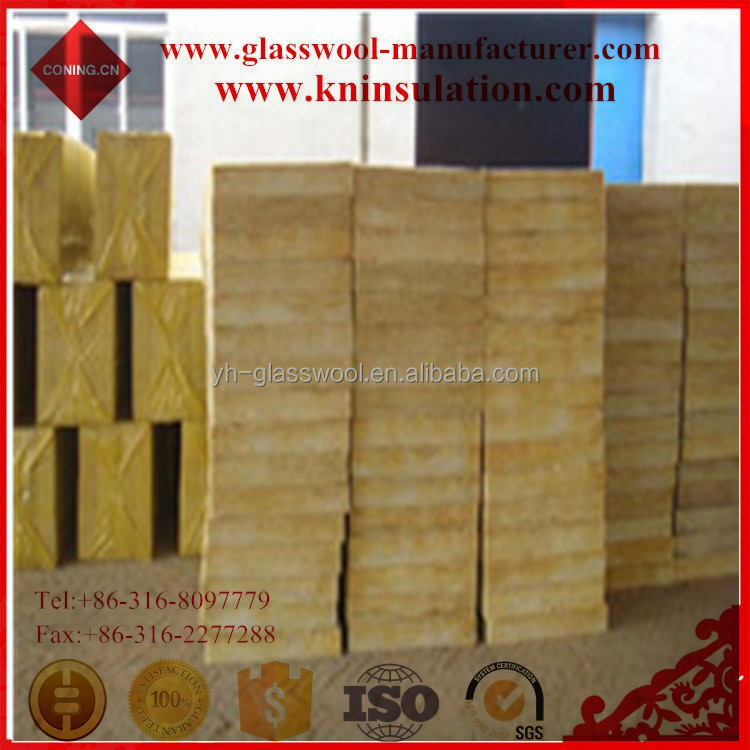 High Density Heat Resistant hemp insulation rock wool acoustic panel board