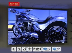 55 inch seamless exhibition lcd video wall with ultra narrow bezel