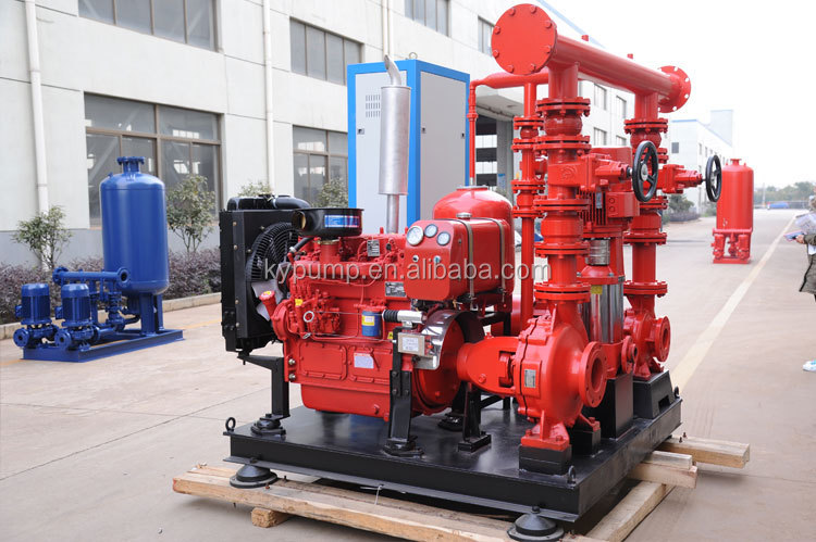 KY-XBC Fire Fighting Diesel Water Pump