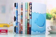 2015 Hot sell for Apple ipad PU leather flip case lovely cartoon case for ipad mini
