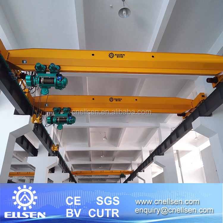 China Workshop Use 5 ton Single Girder Overhead Crane