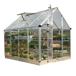 Mini green house Beautiful design home garden use PC greenhouse polycarbonate natural green houses