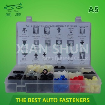 Plastic Assortment Boxes / Toyota Clips / Kit Clip For Toyota