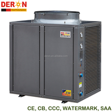 SAA Watermark 380V 50Hz industrial solar air source bathroom hot water heat pump heater for New Zealand and Australia 30 - 42kW
