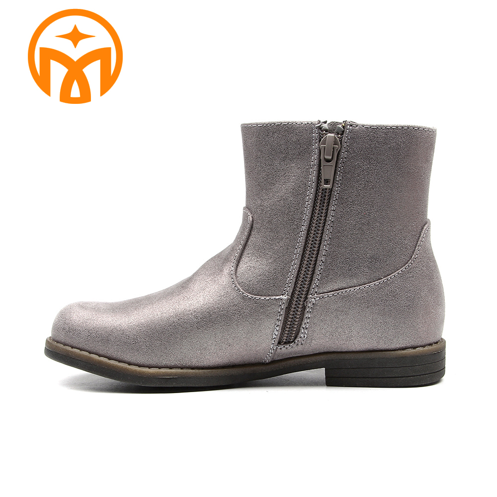 OEM service best price durable waterproof girls ankle boot