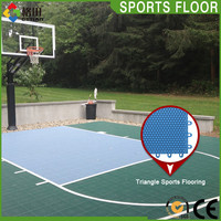 Best Praise university multi court sports pp basketball sports flooring facilities