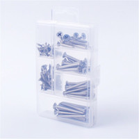 Hot sale 103 pcs self drilling drywall durable reusable assortment kit screw