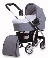 baby stroller 3 in 1 with EN and high quality mama bag and car seat