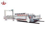 4 colors printer slotter die cutting machine for carton manufactory