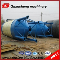 SNC50 High Quality Grain Storage System spiral Cement Silo Steel Silo for Cement Storage