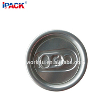 Food Grade 202# SOT Round Easy Open End Beverage Can Lid