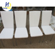 Cheap wholesale white dining chair simple design metal leather back leather dining chair