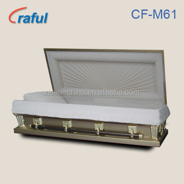 Amish Casket Majestic Gold CF-M61