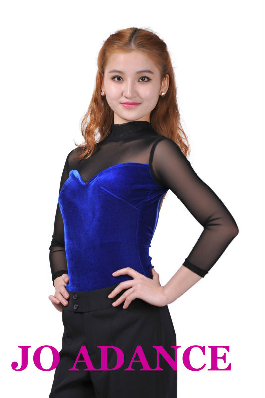 Sexy noble Latin ballroom dance tops corset dance top