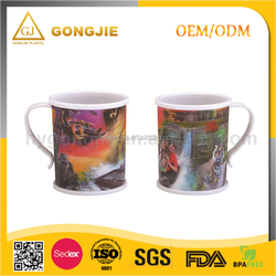 350ml tooth cup water cup plastic cup with handle