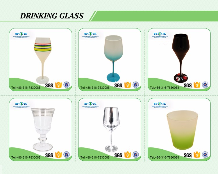 575ml oblique mouth wine glass
