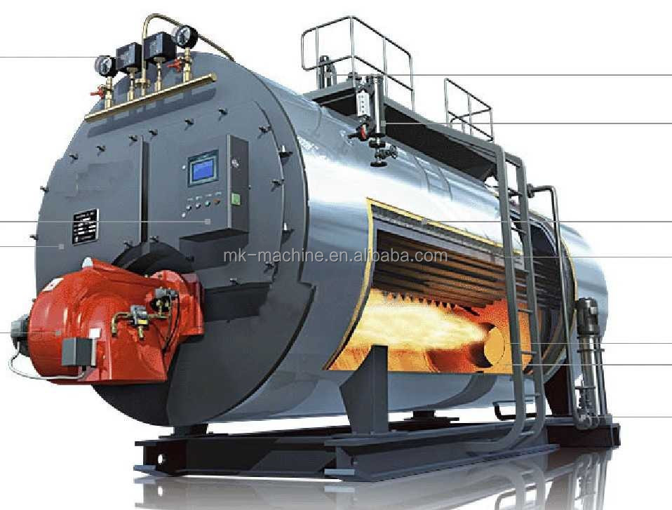 High Efficiency Thermal Oil Heater, Multi-fuel Industrial Thermal Oil Boiler, Excellent Thermal Oil Heating System