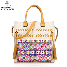 2017 bolsos vintage tribal bags gypsy boho shoulder women handbags