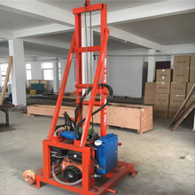 200m deep hydraulic portable water well drilling rig machine for sale