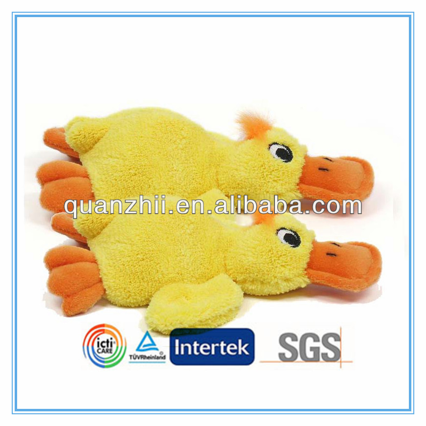 Easter toy plush duck