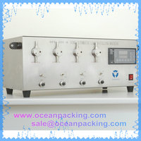4 heads manual liquid filling machine for perfume