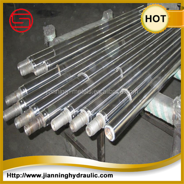 ISO f7 CK45 Induction Harden Chromed Bar / Chrome Plated Round piston rod