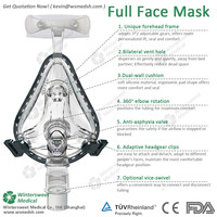 Best Selling Products easy to wear and clean cpap nasal mask with high quality